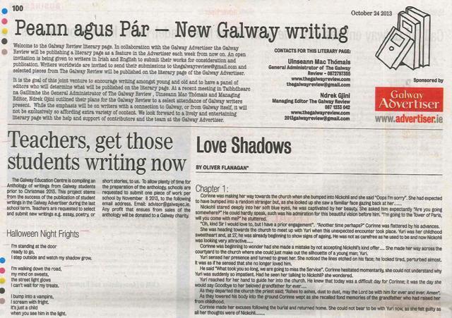 Literary Page 24 Oct 2013