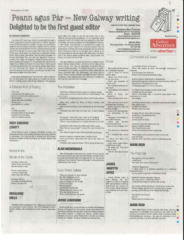 Literary Page 14 November 2013