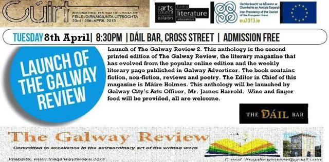 Launch of The Galway Review