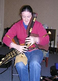 siobhan hogan Boston Uilleann Piper's Club '07 (1)
