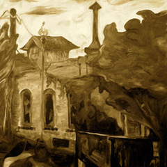 The Old Slaughterhouse, sepia
